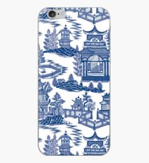 Ming China - Blaue und weiße Chinoiserie iPhone-Hülle & Cover