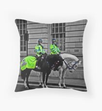 The New Bobbies Throw Pillow