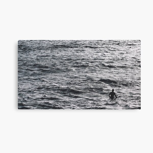 Swim Until You Can't See Land Canvas Print