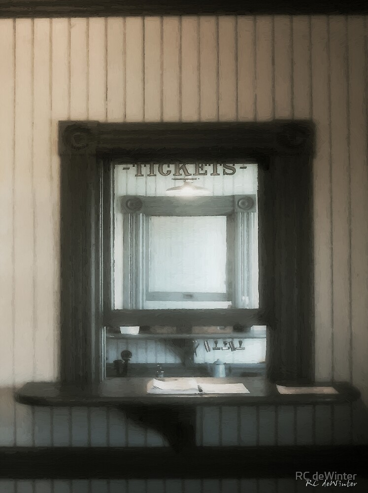 The Stationmaster's Window by RC deWinter