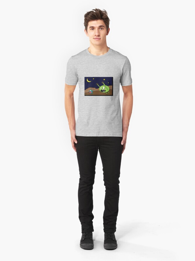 Alternate view of Chase Scene Slim Fit T-Shirt