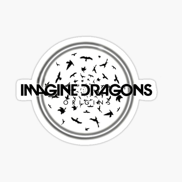 Imagine Dragons Origins Birds Sticker By Pitguy Redbubble