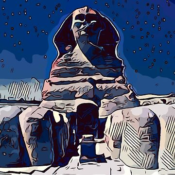 Gizeh Sphinx [comics edition] by Escarpatte