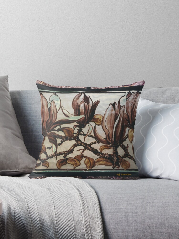 Painted Magnolias by Jeffrey Hamilton
