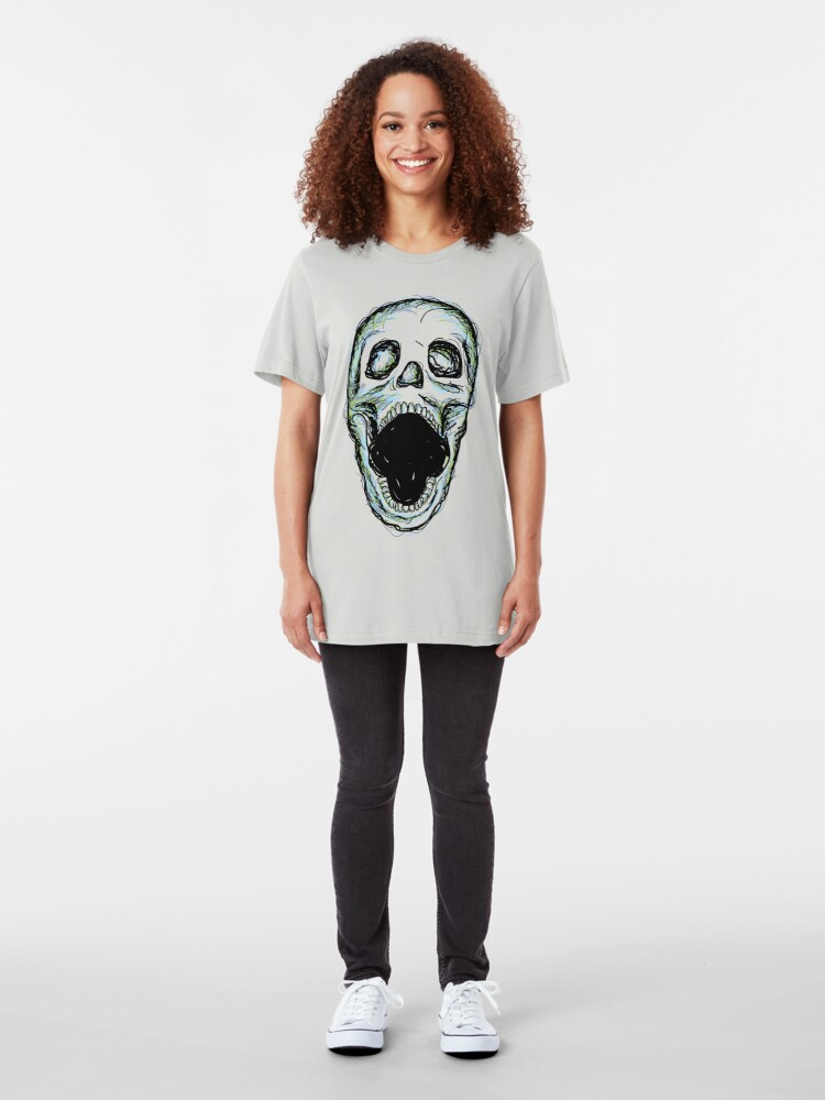 Alternate view of Skull Slim Fit T-Shirt
