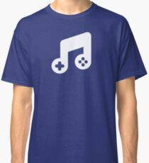 Music Gaming Logo - White Classic T-Shirt