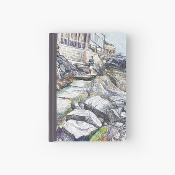 Rocky Path Hardcover Journal