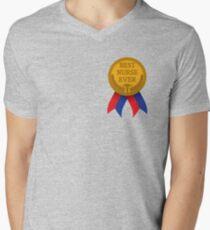 Best Nurse Ever Men's V-Neck T-Shirt