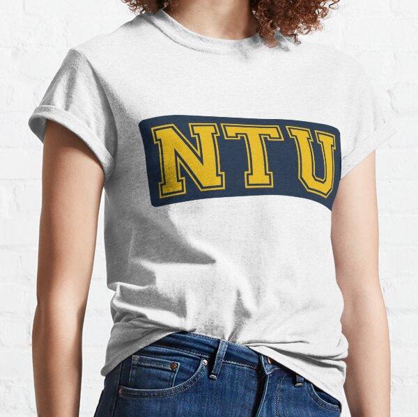 Nanyang Technological University (NTU) in blue and yellow Classic T-Shirt