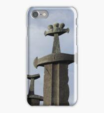 Swords in Rock iPhone Case/Skin