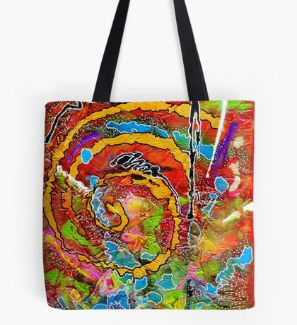 Red Wine and Jazz on a Snowy Night Tote Bag