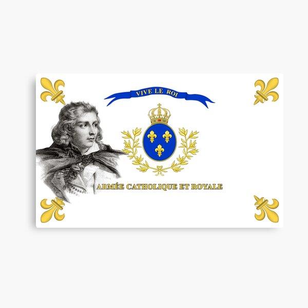 Ejército católico y real | Jacques Cathelineau | Versión 2 Lienzo