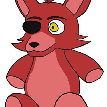 FNaF - Foxy Plush by PantherGirl0352