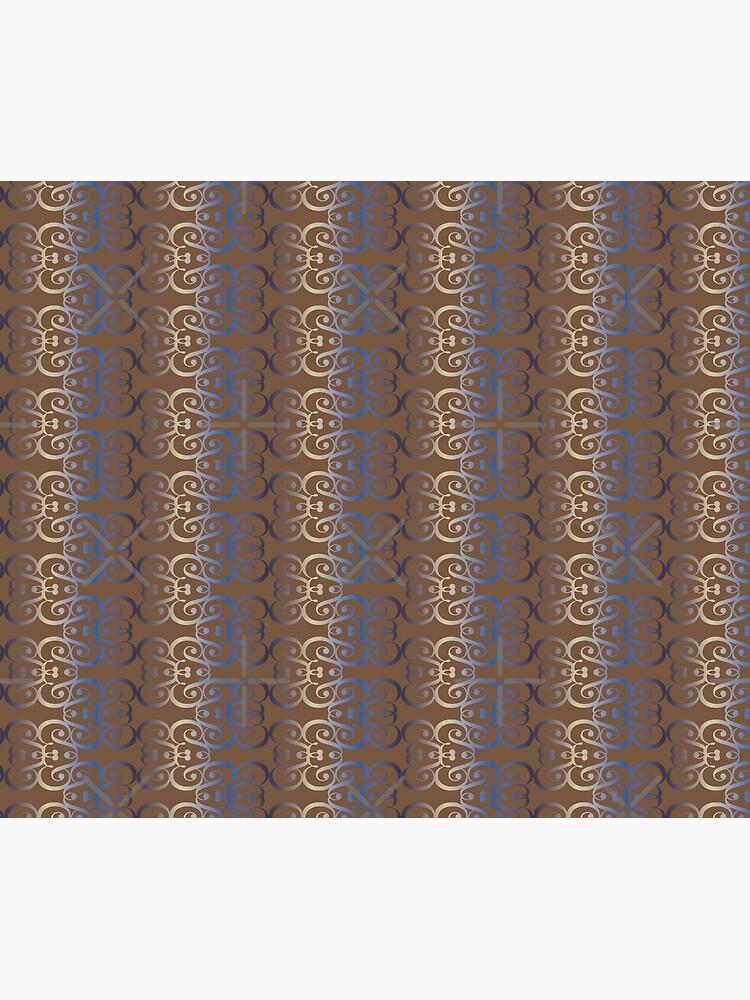 "Typographic elegant pattern ""&"" by nobelbunt"