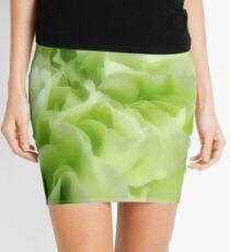 Light Green Carnation Mini Skirt