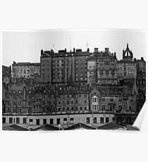Layers Of Edinburgh Poster