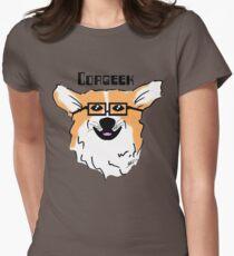 Corgeek Women's Fitted T-Shirt