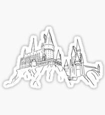 Château magique Sticker