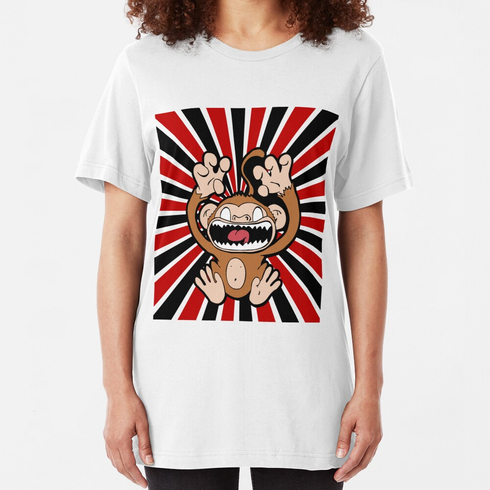 Angry Monkey Slim Fit T-Shirt