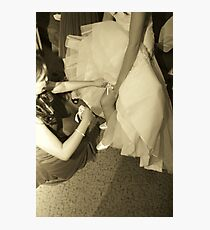 leg Photographic Print