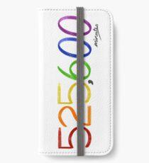 Jahreszeiten der Liebe iPhone Flip-Case/Hülle/Klebefolie