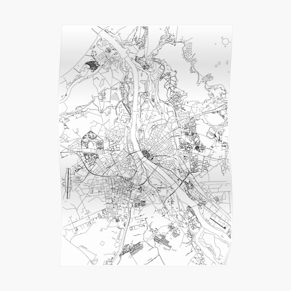 Riga map poster print wall art, Latvia gift printable, Home and Nursery, Modern map decor for office, Map Art, Map Gifts Poster