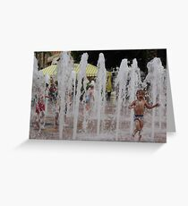 Water Fun Greeting Card
