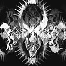 Into The Light PunkSkulls T by Michelle Scott