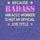 Blockmason Job Badass Funny Birthday Cool Gift by smily-tees