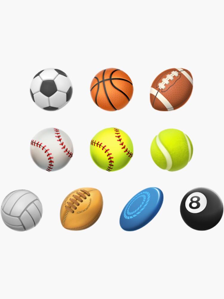 Sports Balls Sticker Pack by alwaysnicole