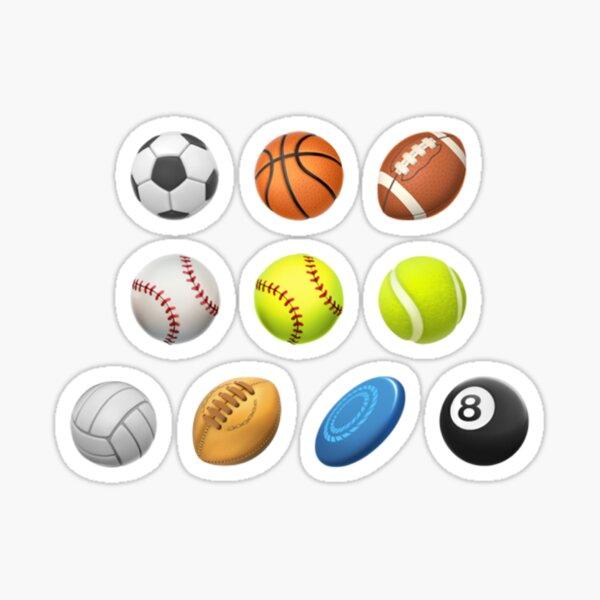 Sports Balls Sticker Pack Sticker
