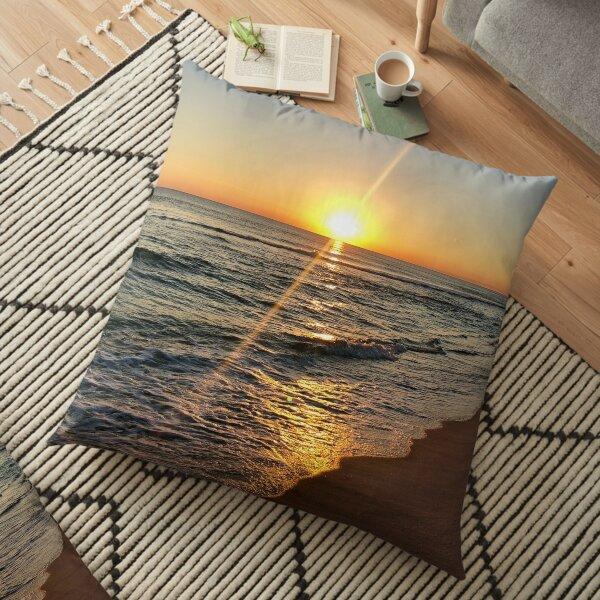 Florida Sunset, Panama City Beach, FL Floor Pillow