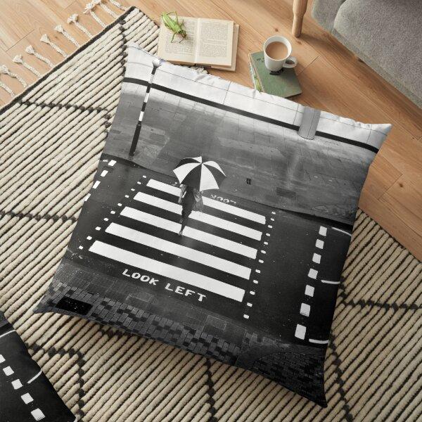 Zebra Crossing - London Floor Pillow