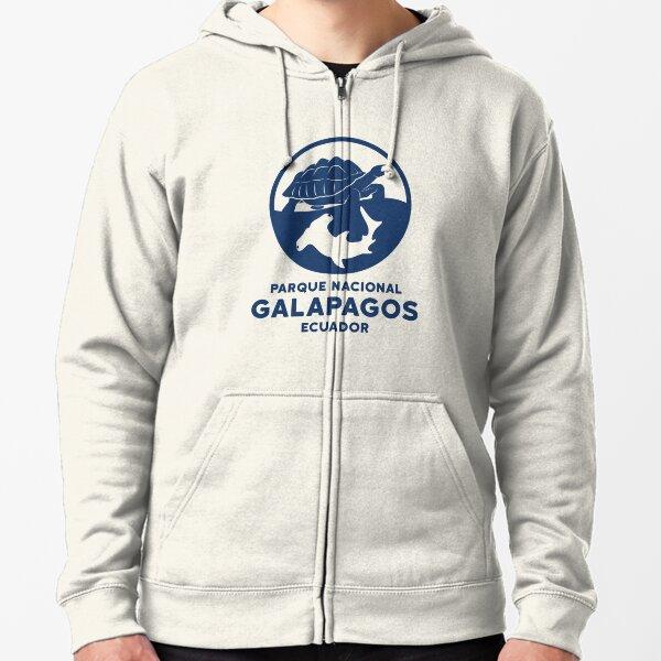 Galapagos National Park Ecuador  Zipped Hoodie