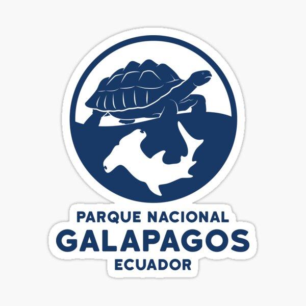 Parque Nacional Galápagos Ecuador Pegatina