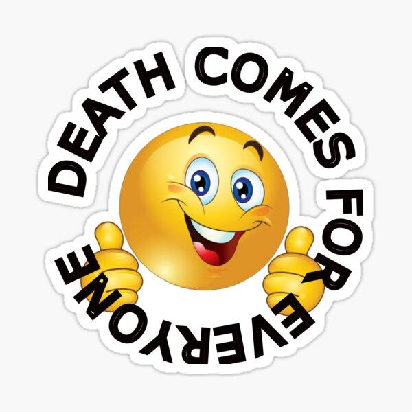 Dead Smiley Sticker By Subtlesplit Redbubble