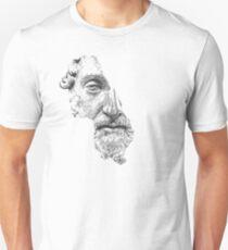MARCUS AURELIUS ANTONINUS AUGUSTUS / black and white Unisex T-Shirt