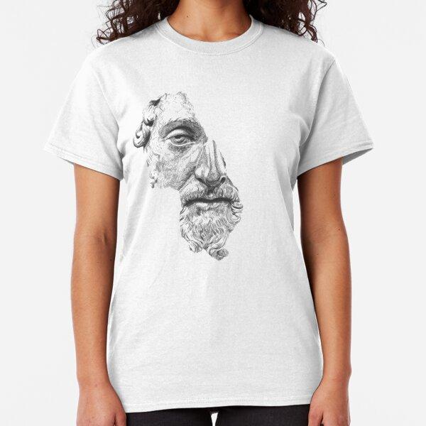 MARCUS AURELIUS ANTONINUS AUGUSTUS / black and white Classic T-Shirt