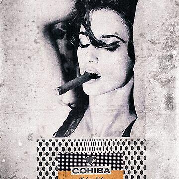 Cuban Cigar & Sexy lady by benbdprod