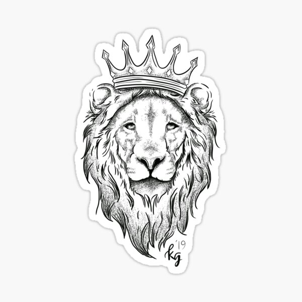 Liam the Lion (2019) Sticker