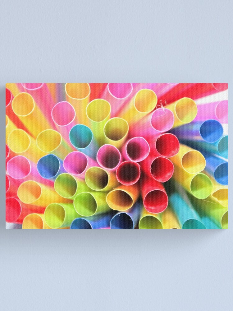 Alternate view of COLOR EXPLOSION Canvas Print