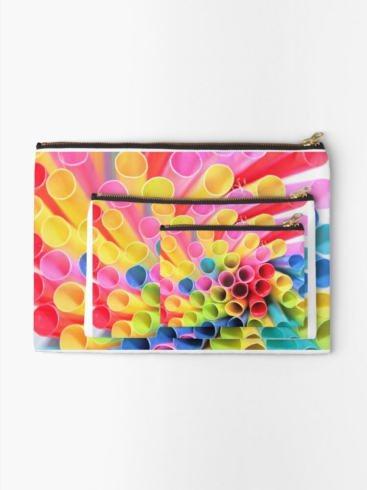 Alternate view of COLOR EXPLOSION Zipper Pouch