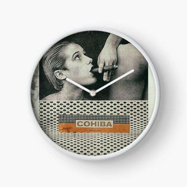Cuban Cigar & Sexy lady Clock