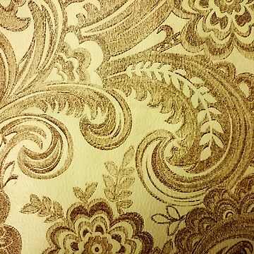 Gold Flowers Pattern by nicolaspro15