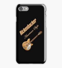 Rickenbacker Natural 12s American Style  iPhone Case/Skin