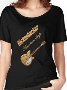 Rickenbacker Natural 12s American Style  Women's Relaxed Fit T-Shirt