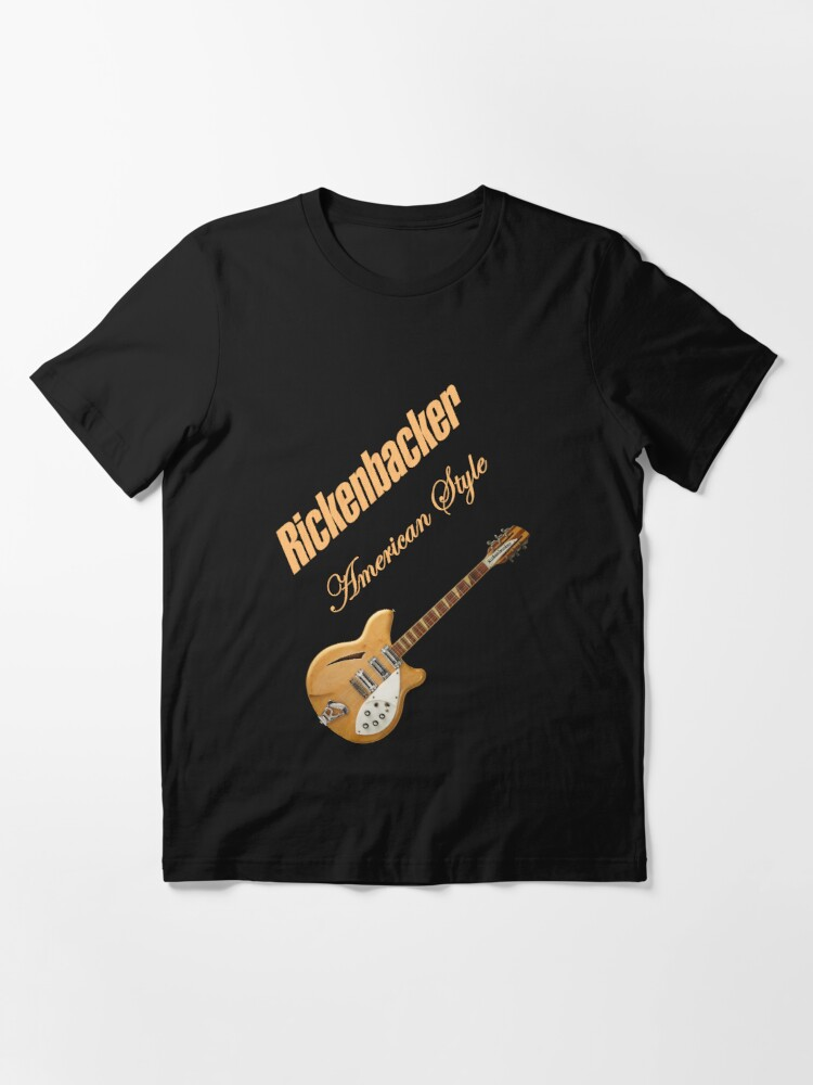 Alternate view of Rickenbacker Natural 12s American Style  Essential T-Shirt