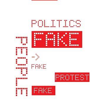 Fake News Typographic Concept by jazzworldquest