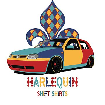 Shift Shirts Harlequin - Golf by ShiftShirts