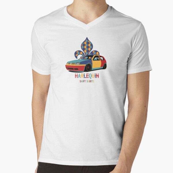 Shift Shirts Harlequin - Golf V-Neck T-Shirt